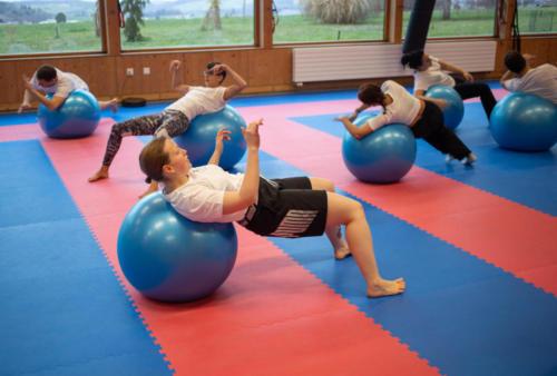 Exercices SwissBall